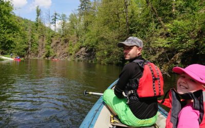 Zahájení vodácké sezóny a pozvánka na májové splutí Moravice
